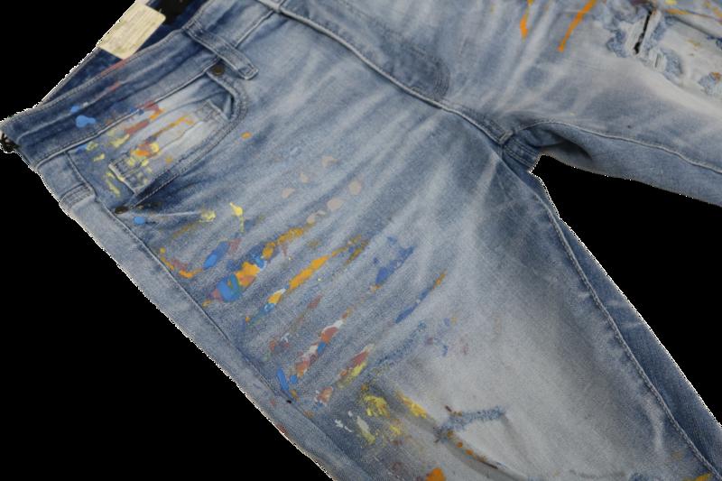 Jordan Craig Men's 'Lightning Blue/Paint' Jean JM3433