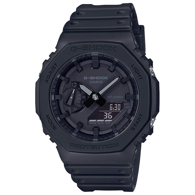 g-shock G-Shock GA2100-1A1 Carbon Square