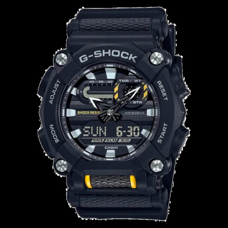 g-shock G-Shock GA900-1ACR Black Yellow