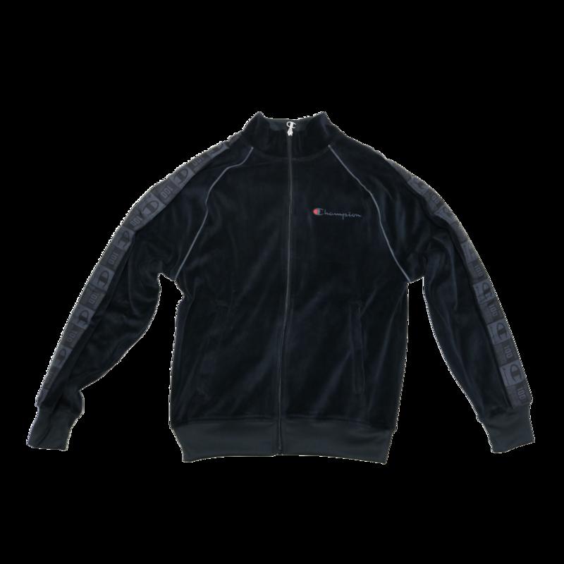 Champion Champion Men's Velour Jacket Black V4463