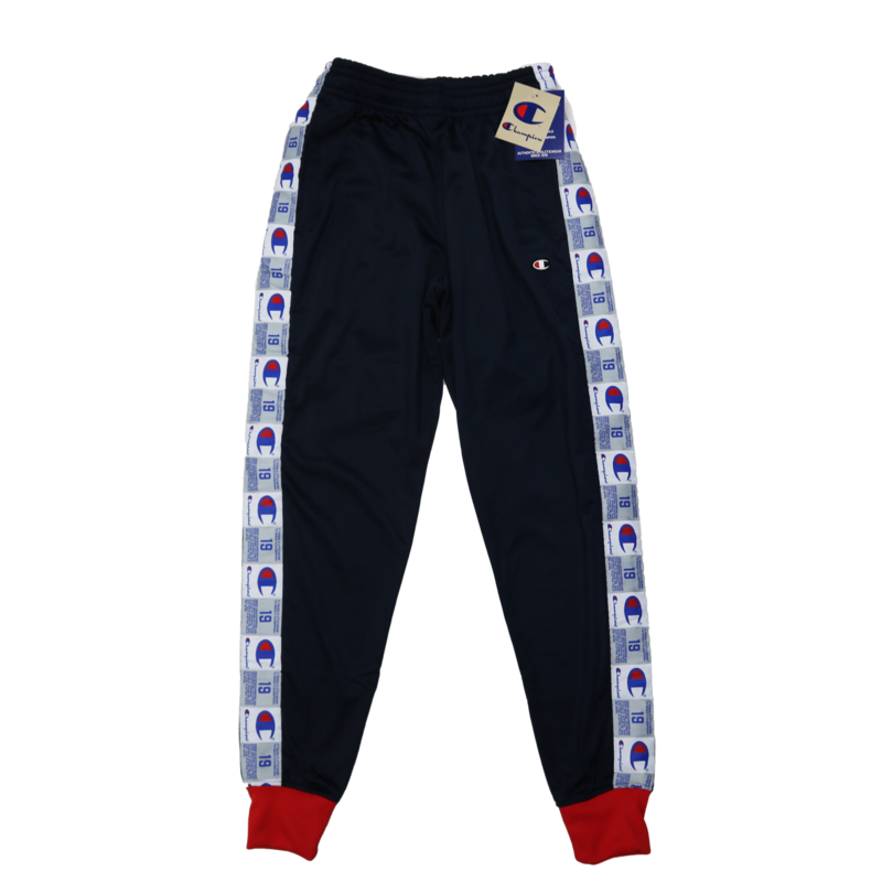 Champion Champion Men's Tricot Pant Navy/Red P3378