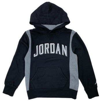 Air Jordan Air Jordan Fleece Color Blocked PO Hoodie KIDS  023-B