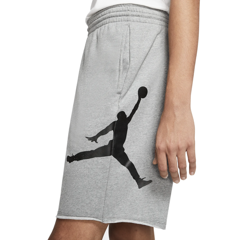 Air Jordan Air Jordan Men's Jumpman Classic Logo Fleece Shorts Grey/Black AQ3115 091