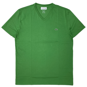 LACOSTE Lacoste Men's V-neck Pima Cotton T-shirt  TH6710 52 TAX