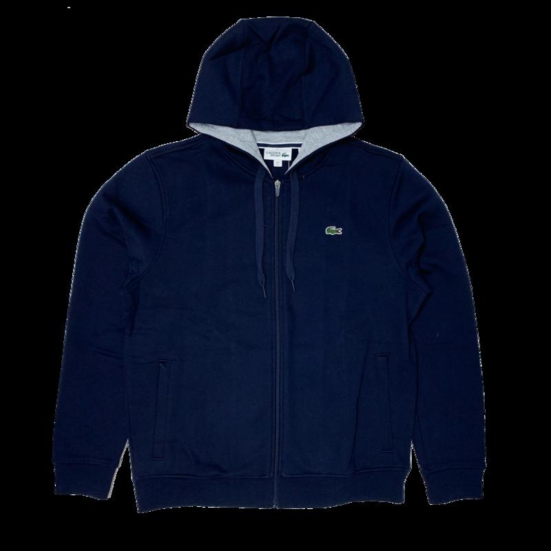 LACOSTE Lacoste Men's SPORT Full-Zip Fleece Hoodie SH7609 52 KZA
