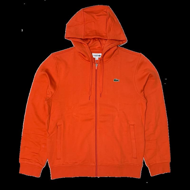 LACOSTE Lacoste Men's  SPORT Hooded Lightweight Bi-material Sweatshirt  SH1551 52 YOU
