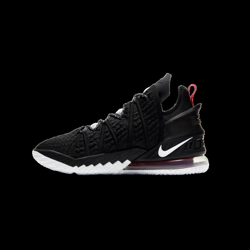 Nike Nike Lebron XVIII 'Black/White-University Red' CQ9283 001