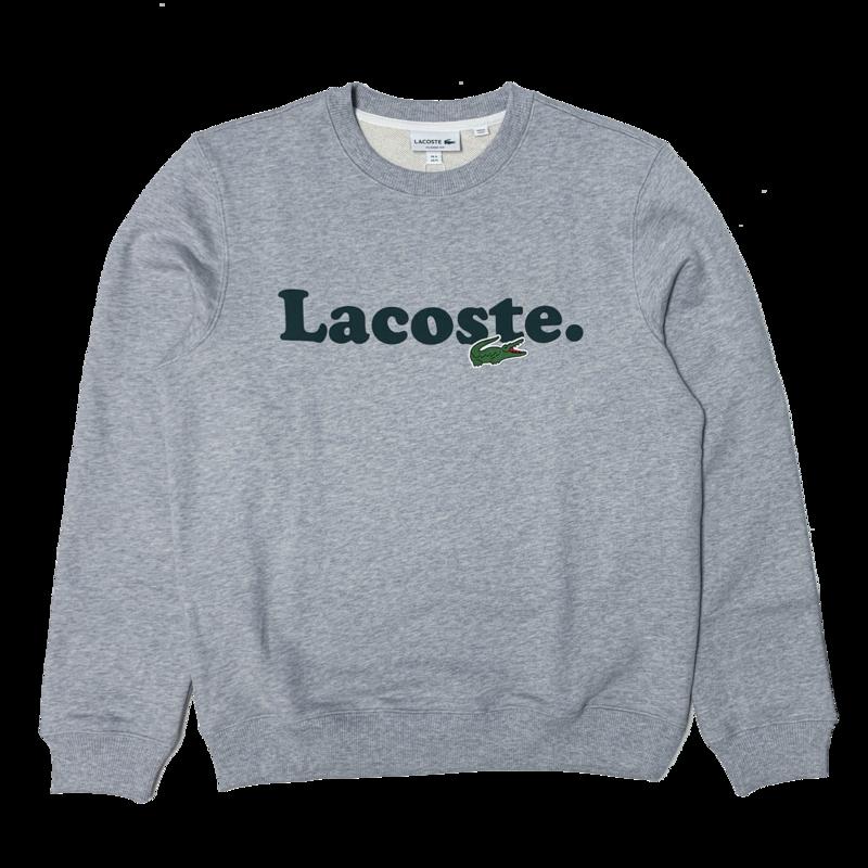 LACOSTE Lacoste Men's Lacoste And Crocodile Branded Fleece Sweatshirt SH2173 52 CCA