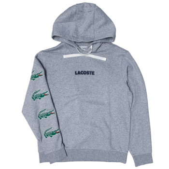 LACOSTE Lacoste Men's SPORT Crocodile Print Hooded Cotton Sweatshirt SH7221 52 CCA