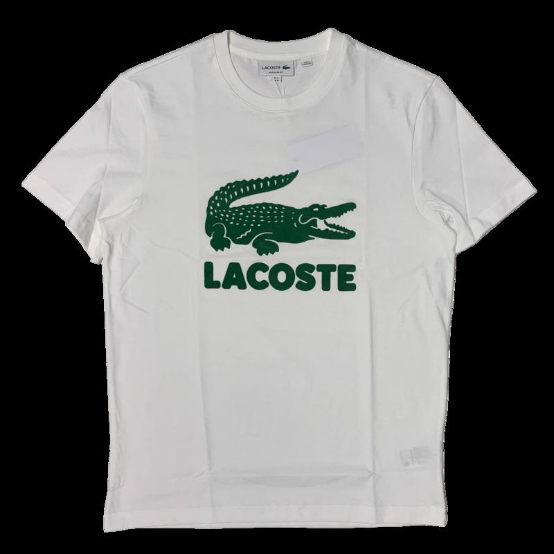 LACOSTE Lacoste Men's Printed Lacoste Logo Cotton T-shirt TH2166 52 001