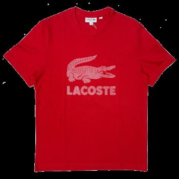 LACOSTE Lacoste Men's Printed Lacoste Logo Cotton T-shirt TH2166 52 240