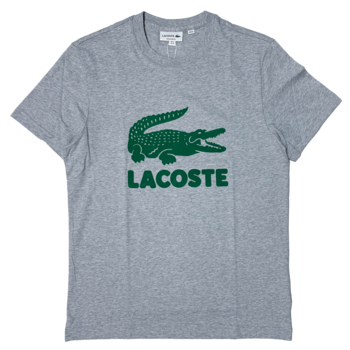LACOSTE Lacoste Men's Printed Lacoste Logo Cotton T-shirt TH2166 52 CCA