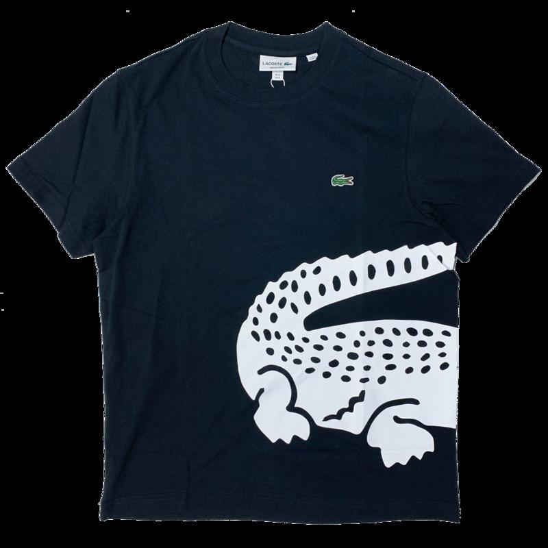 LACOSTE Lacoste Men's Oversized Crocodile Print Crew Neck T-shirt TH5139 52 031