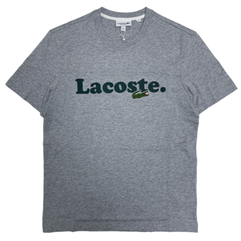 LACOSTE Lacoste Men's Lacoste And Crocodile Branded Cotton T-shirt  TH1868 52 CCA