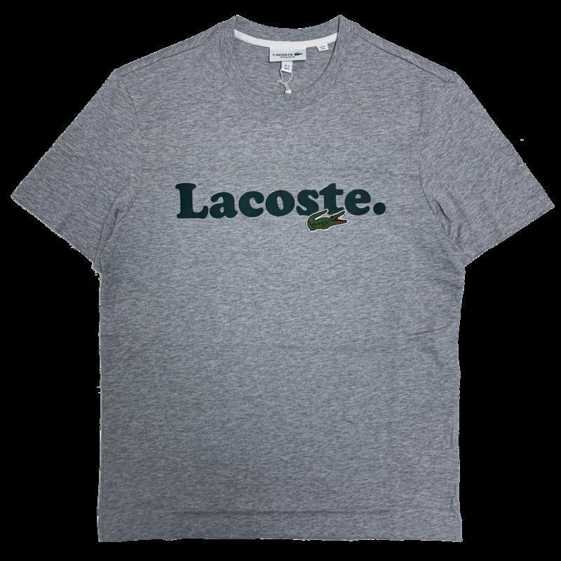 LACOSTE Lacoste Men's Lacoste And Crocodile Branded Cotton T-shirt  TH1868 52 CCA