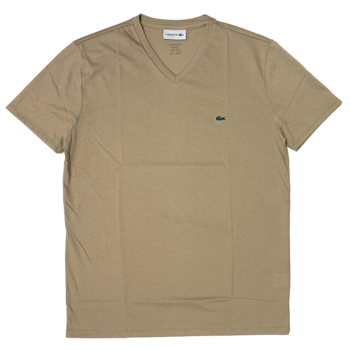 LACOSTE Lacoste Men's V-neck Pima Cotton T-shirt TH6710 52 02S