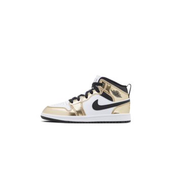 Air Jordan Air Jordan 1 Mid SE 'Metallic Gold' PS DC1422 700