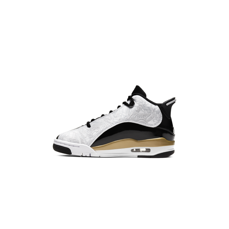 Air Jordan Air Jordan Dub Zero Black/White-Metallic Gold' GS 311047 005