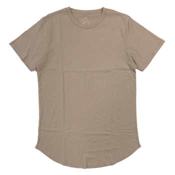 Kuwalla Tee Kuwalla Tee Eazy Scoop T-Shirt Oxford Tan