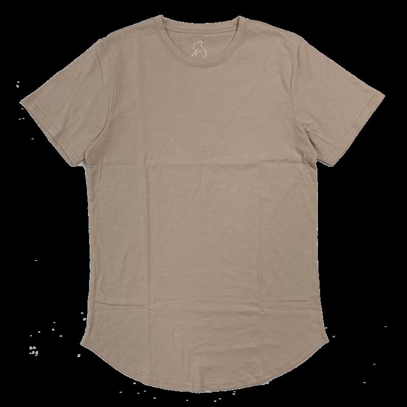 Kuwalla Tee Kuwalla Tee Eazy Scoop T-Shirt Oxford Tan