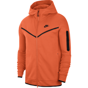 Nike Nike Men's Tech Fleece Jacket Orange CU4489 837