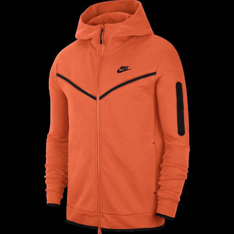 Nike Nike Men's Tech Fleece Jacket Orange CU4489 837