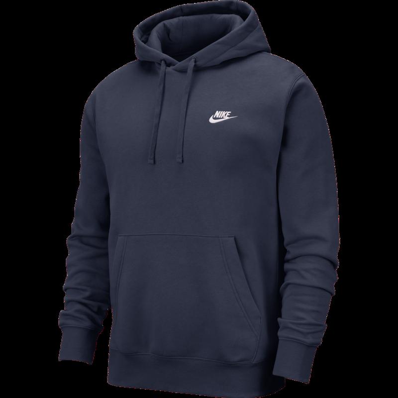 Nike Nike - Sportswear Club Fleece Pullover Hoodie Navy BV2654 410