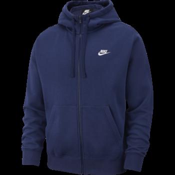 Nike Nike Sportswear Club Fleece Men's Full-Zip Hoodie Navy BV2645 410