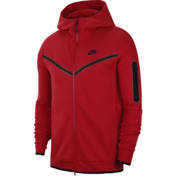 Nike Men's Tech Fleece Jacket Red CU4489 657