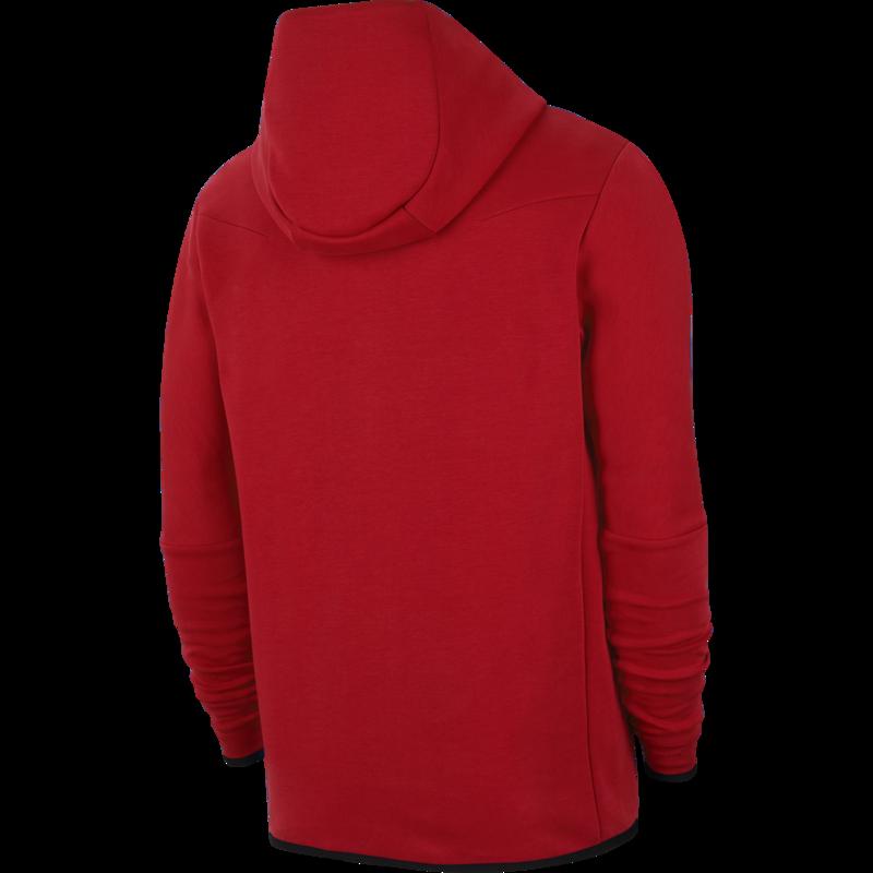 Nike Men's Tech Fleece Jacket Red CU4489 657