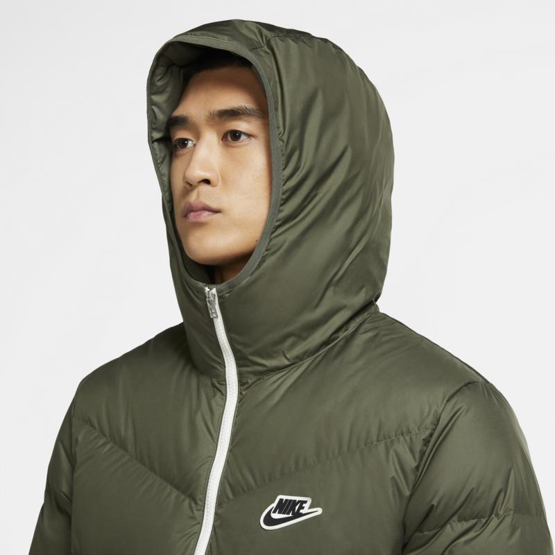 Nike Nike Sportswear Down-Fill Windrunner Twilight Marsh Olive Green CU4404-380