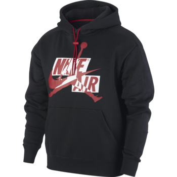 Air Jordan Air Jordan Men's Jumpman Classic Pullover Mash up Hoodie Black/Red CK6737 011