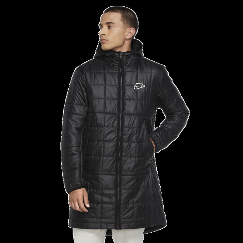 Nike Nike Men's Sportswear Synthetic Fill Parka Black Quilted CU4416 010