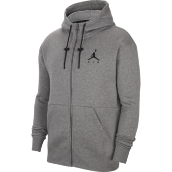 Air Jordan Air Jordan Men's Jumpman Air Fleece Full-Zip Hoodie Grey CK6679 091