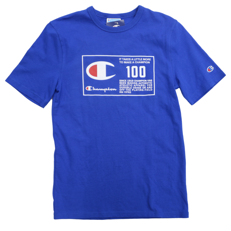 Champion Champion 100 years Shirt T1919G Royal