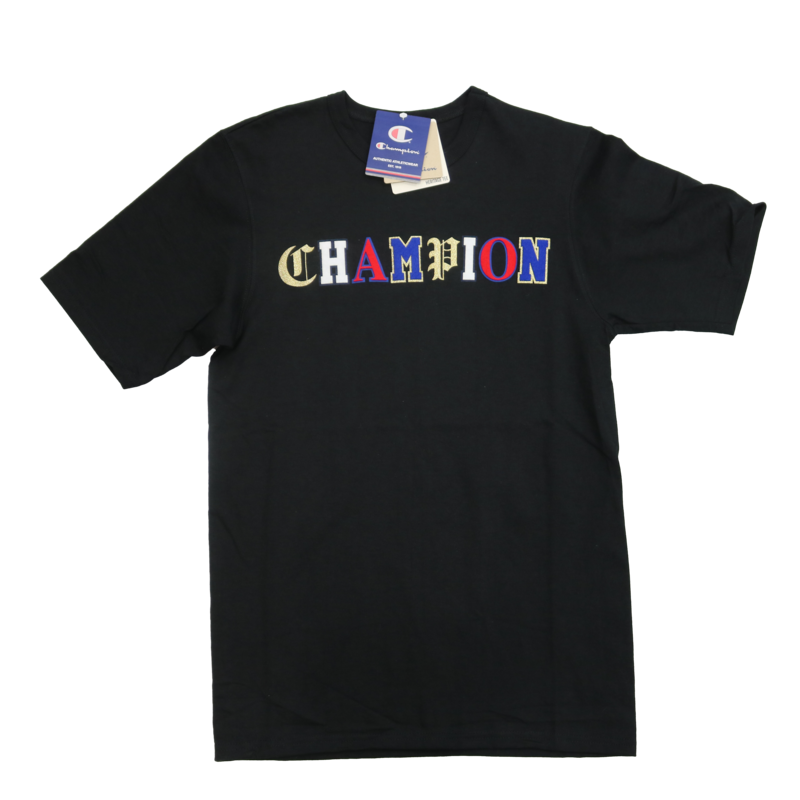 Champion Champion Multi Logo Shirt GT19 Black