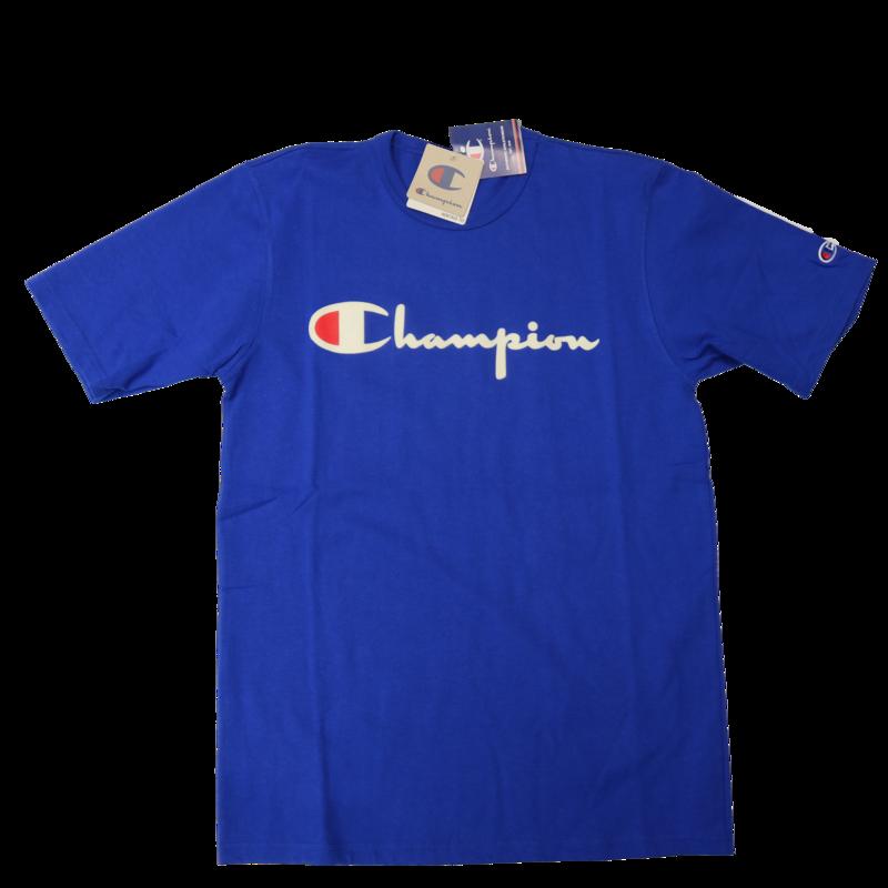 Champion Champion Felt Script Royal Blue GT19