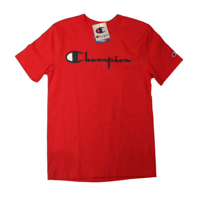 Champion Champion Classic Print Script Logo Red GT19