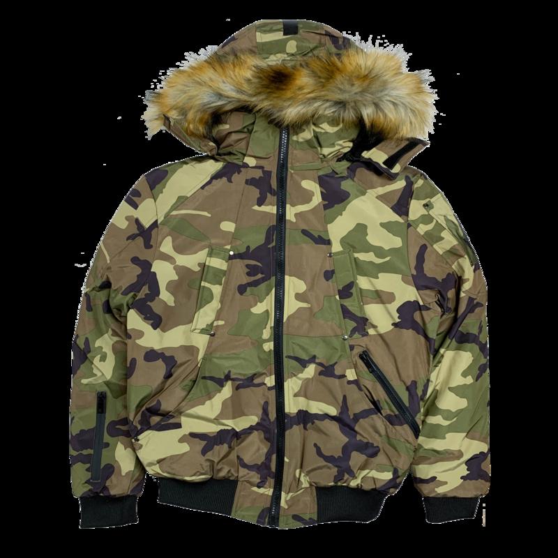 UCXX Luxe CO. Arctic Climate Outerwear Jacket Camo