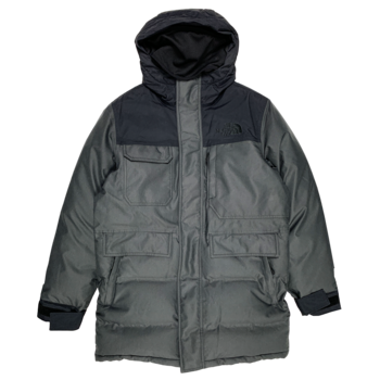 THE NORTH FACE The North Face Biggie MCMRDO Parka Black/Deep Olive NF0A3JQEJK3