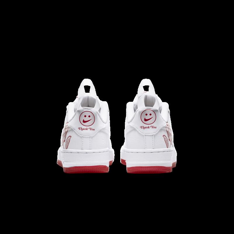 Nike Nike Air Force 1 Low GS Bodega Plastic Bag White University Red CN8534 100