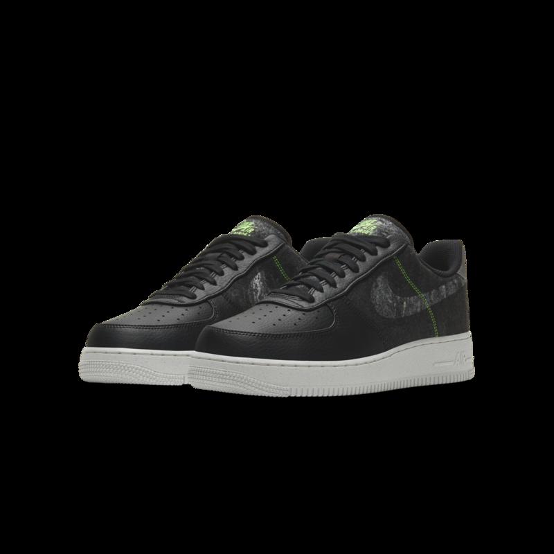 Nike Nike Air Force 1 '07 LV8 Recycled Wool Black/Electric Green CV1698 001