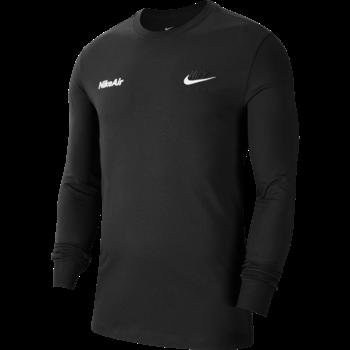 Nike Nike Men's Sportswear Lonsleeve Shirt Black/White CU7628 010
