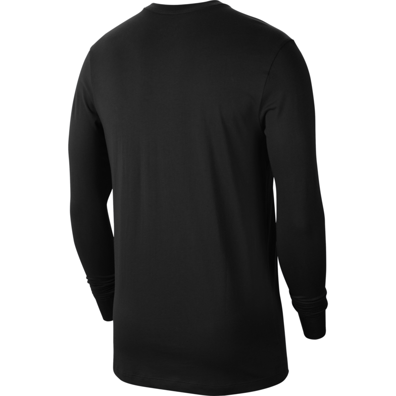 Nike Nike Men's Sportswear Longsleeve Shirt Big Swoosh Black/White CU7355 010