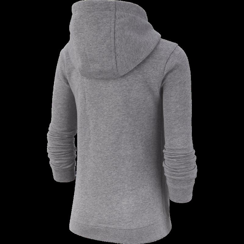 Nike Nike Kid's Fleece Pullover Hoodie Grey/White BV3757 091