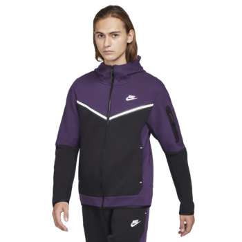 Nike Nike Men's Sportswear Tech Fleece Hoodie Purple CU4489 503