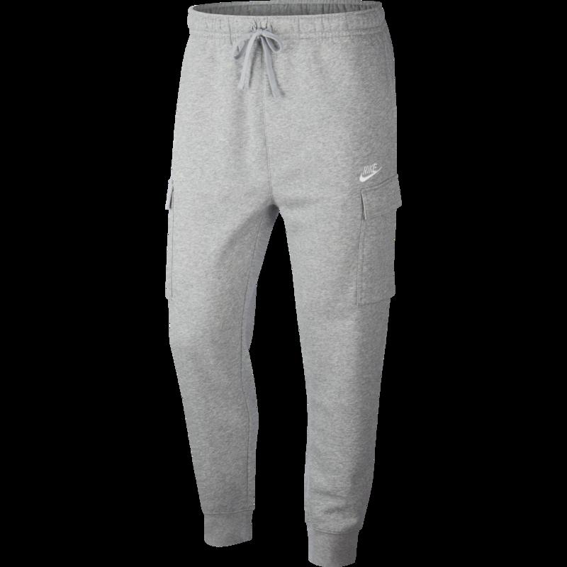 Nike Nike Men's Sportswear Club Fleece Cargo Trousers Grey CD3129 063
