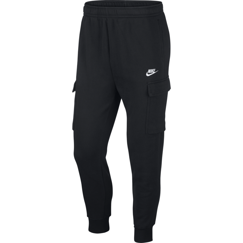 Nike Nike Men's Sportswear Club Fleece Cargo Trousers Black CD3129 010