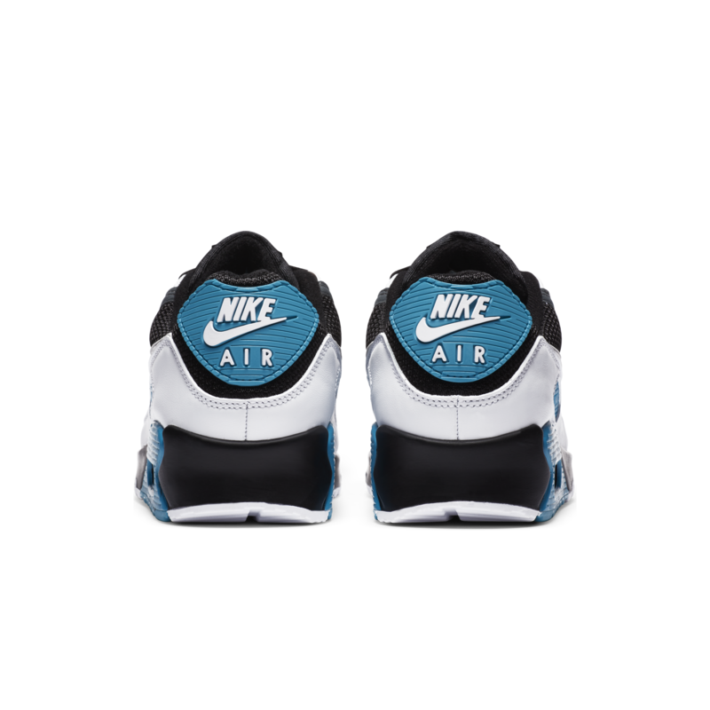 Nike Nike Men's Air Max 90 Black/Grey/Laser Blue CT0693 001