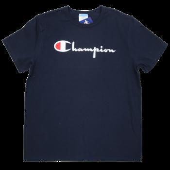 Champion Champion Men's Classic Printed Script Tee Navy Blue GT19